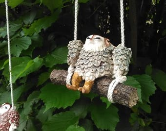 swinging owl #1