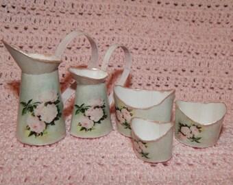Miniatures,dollhouse.Set of pots and pans