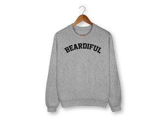 Beardiful Sweat - Shirt barbe - barbe homme chemise - homme drôle chemise - cadeau pour lui - barbe homme chemise - mari chemise - chemise barbu