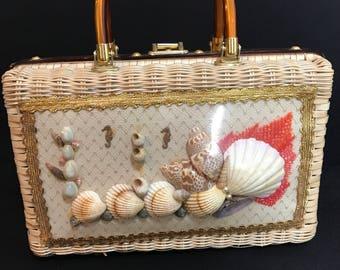 MCM Atlas seashell purse