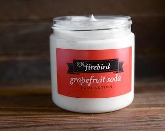 Grapefruit Soda Body Lotion - Avocado and Shea Butter Lotion