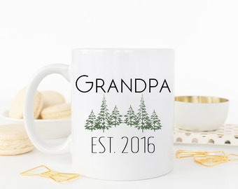 Grandfather Mug, Grandfather to be, New Grandfather, Grandfather Gift, Grandpa Gift, Grandpa Mug, Pregnancy Reveal Grandparents, Coffee Mug