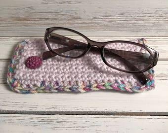 Crochet Eye Glass Case