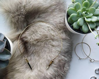 African Porcupine Quill Collar