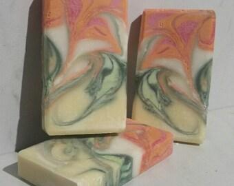 Flower Symphony No. 1 Handmade Soap - Palm Oil Free