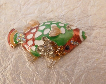 Colorful Fish Magnet