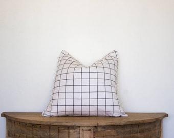 Modern Linen Pillow Cover 18x18