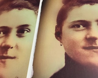 St. Therese of Lisieux Portrait (hair up) 8.5x11 or 11x17 inches Poster. New and Unique Inspirational Image of Devotion