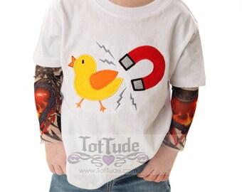 Chick Magnet Tattoo Sleeve Shirt