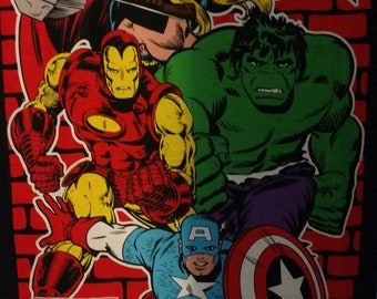 "Avengers 34"" X 43"" Big Panel  FREE U.S. SHIPPING"