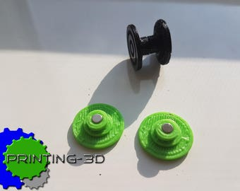 Magnetic hand Spinner Fidjet Cap's, 1 pair, 3D printed