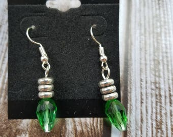 Christmas light earrings