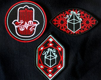 ZAMZAM SOUNDS Embroidered Patch Set