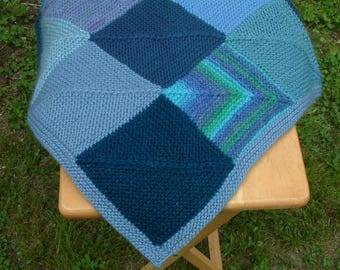Blue Heaven Baby Blanket