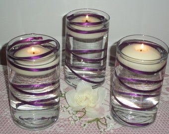 Floating Candle Water Centerpiece