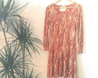 DVF Collectors Piece Vintage designer WOODGRAIN  Diane Von Furstenberg