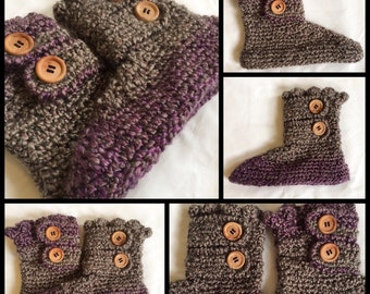Soft and Warm Women's Slipper Boots