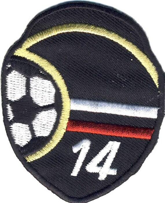 Soccer Football Deutschland Germany Symbol 14 Patch Appliqu