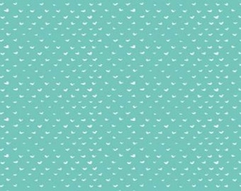 CLEARANCE - Dear Stella - Turquoise - Intermix Hearts - Blenders