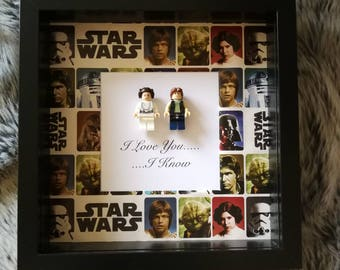 star wars I love you.....i know  Star Wars Han Solo and Princess Leia special quote perfect for wedding, anniversary or to say I love you