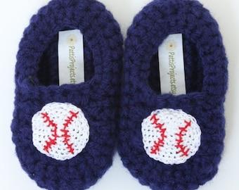 Infant Baseball slippers