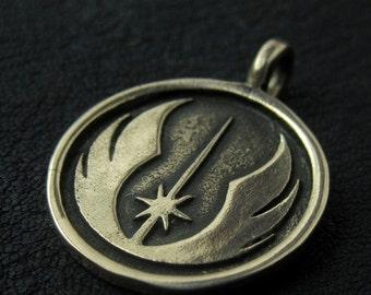 Bronze Jedi pendant