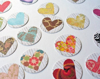 Stickers Envelope Seals Heart Gift Bag Stickers Planner Stickers Scrapbooking Sticker Baked Good Stickers  12 Stickers SES48