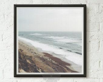 Ocean print, beach print, Ocean Water Print, Coastal Wall Art, Wall Art, Coastal, Printable Art, beach art print, vacation , nautical decor