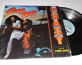 """1990 Reggae Soca Beti - CRAZY 12"""" Vinyl Reggae Music Record"""