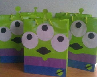 toy story alien gift bags