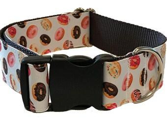 "1.5"" Donut Big Dog Collar Buckle or Martingale"