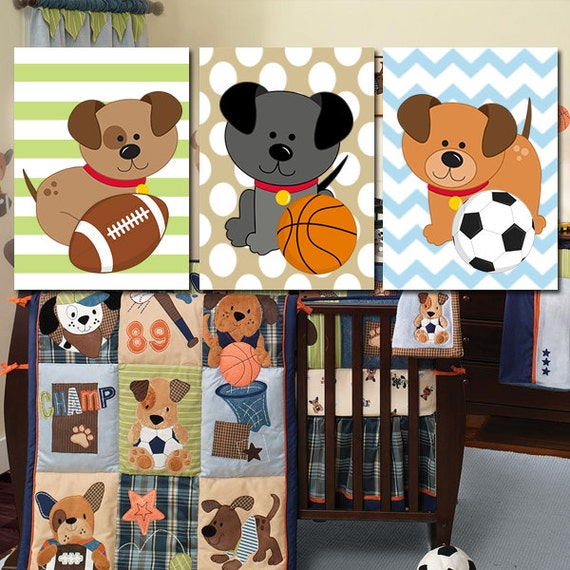 Dog Baby Bedding Sets
