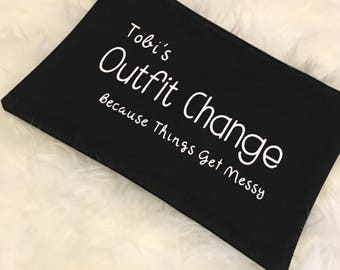 Outfit Change Bag (Because Things Get Messy)