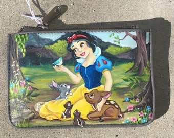 Hand-Painted Disney's Snow White Card Case