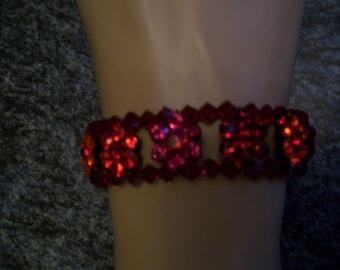 Flower Swarovski Crystal bracelet