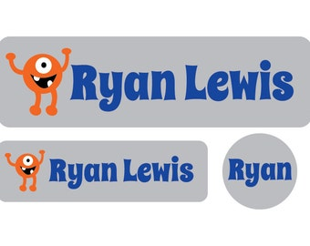 Daycare Pack of Custom Labels - Set of 60 (Standard, Mini & Pacifier) - Baby bottle labels, Daycare Labels, Dishwasher safe labels