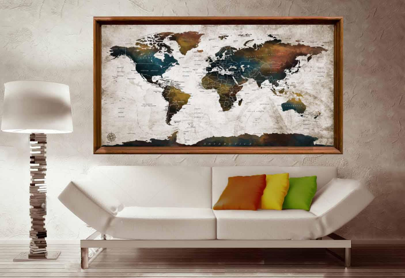 World map detailed countries posterworld map posterworld map wall world map detailed countries posterworld map posterworld map wall artworld map decaldetailed mapworld map push pinpush pin maptravel publicscrutiny Image collections