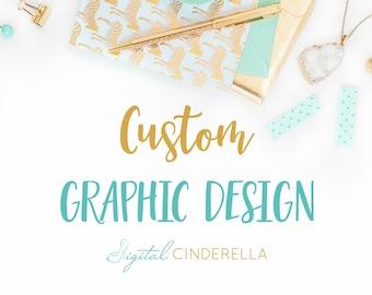 Custom Graphic Design | Freelance Graphic Design Services