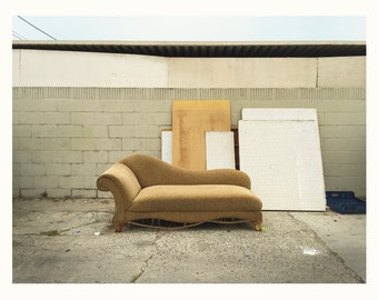 Outdoor Furniture Series / Long Beach, CA / Photography / Giclée Fine Art Prints / 100% Cotton Heavyweight Natural Rag