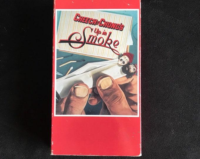 Cheech & Chong - Up In SMOKE Vintage Movie VHS