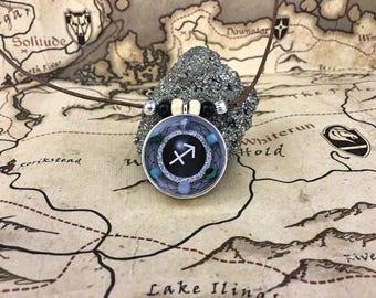 Sagittarius Necklace, Sagittarius Zodiac Sign Necklace, Sagittarius Jewelry, Sagittarius Pendant, Sagittarius Gift