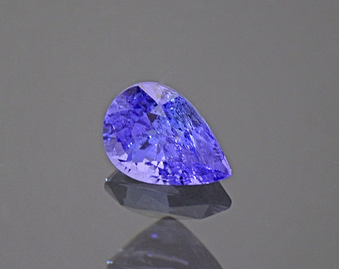 Bright Blue Purple Tanzanite Gemstone from Tanzania 0.86 cts