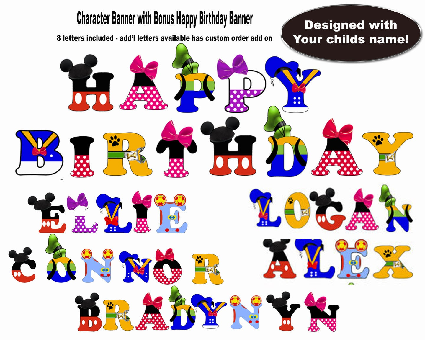 mickey mouse clubhouse letters mickey mouse birthday banner mickey mouse mickey mouse 23636
