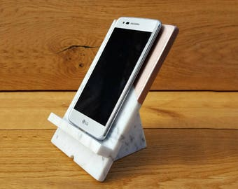 Phone Stand, Phone Stand for Desk, Phone Holder, iPhone Holder, Charging Station, Docking Station, Smartphone Stand, Tech Gift, Gift Women