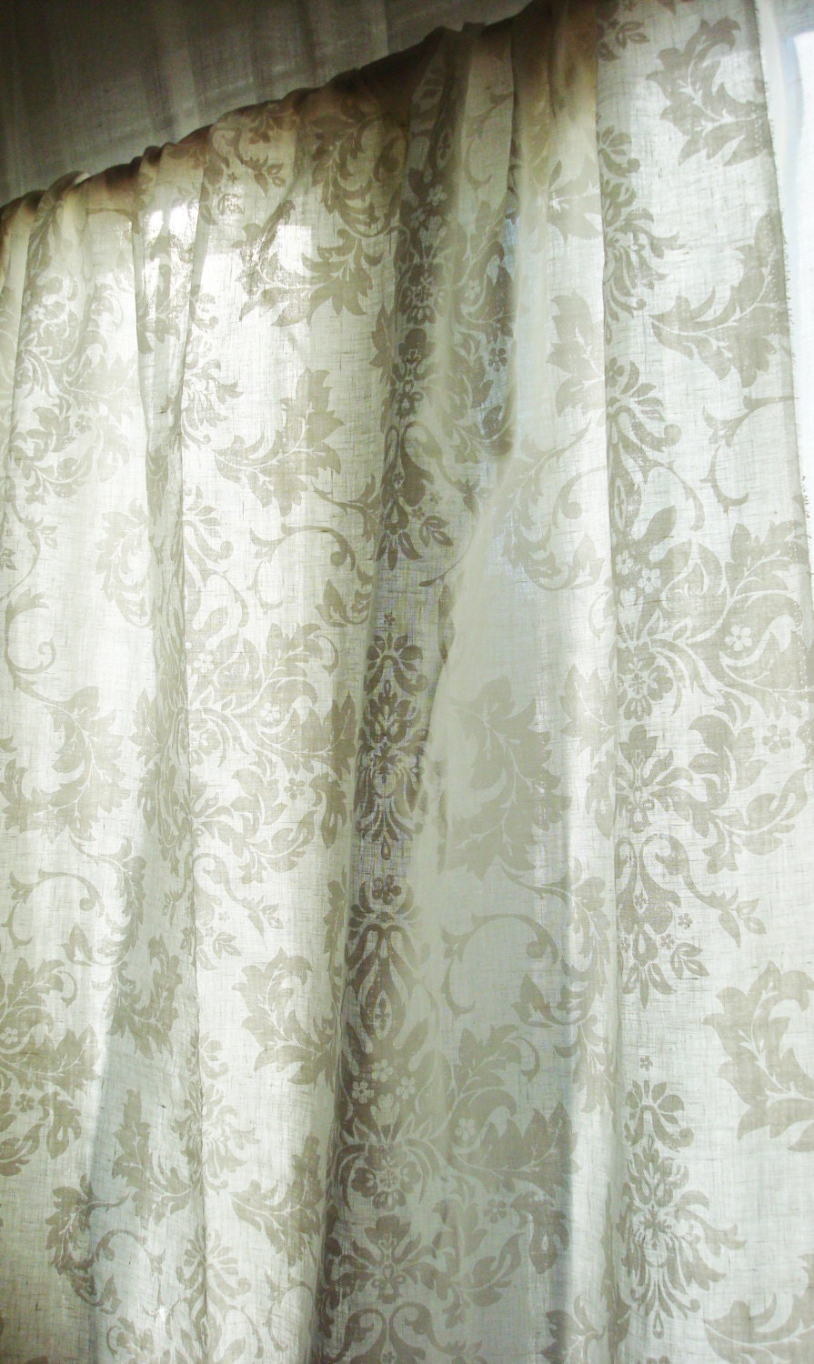 closeup curtains panels of damask list off floral top jacquard drapes grey blair grommet set