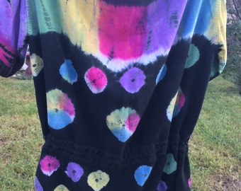 Tie Dye HIppie/Boho Shirt, 1970s