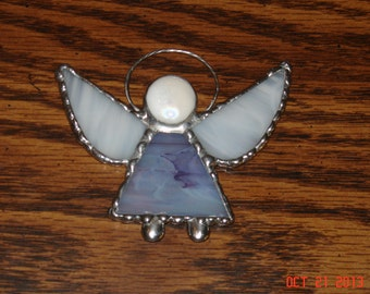 Stained Glass Angel Ornaments & Sm Suncatchers