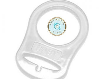 Silicone Mam pacifier adapter