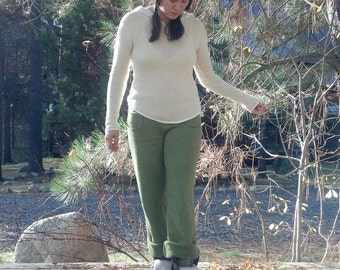 High Water Hemp Fleece Pants