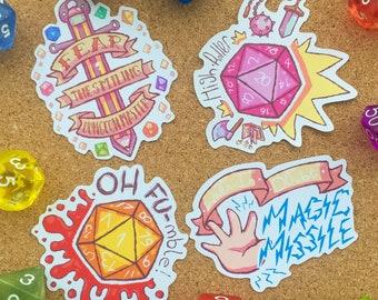 Tabletop Party - Sticker Set